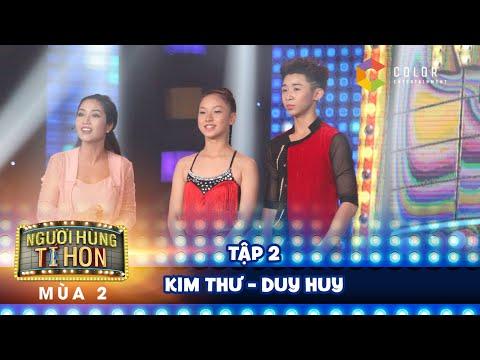 Người hùng tí hon 2 | tập 2: cặp đôi nhảy điêu luyện Kim Thư - Duy Huy