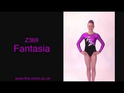 Fantasia Long Sleeved Gymnastics Leotard