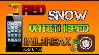 How To Jailbreak IOS 6.1.6 Untethered IPhone 3gs & IPod