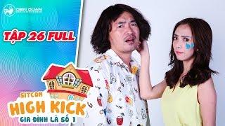 Gia đình là số 1 sitcom | tập 26 full: Thu Trang khóc như mưa vì giận Tiến Luật bê tha