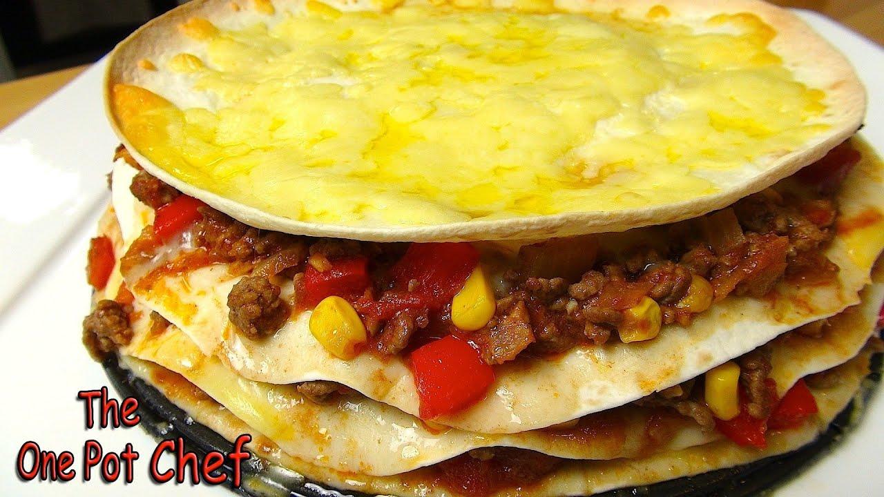 Beef Tortilla Pie - RECIPE - YouTube