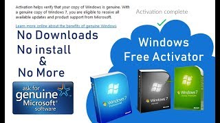 Windows7 Ultimate 32 Bit And 64 Bit Genuine Product Key