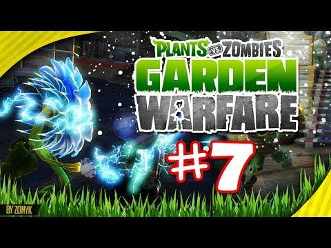 ¡CACTUS DE FUEGO! (Jardines y Cementerios) Let's Play #7 - Plantas vs Zombies Garden Warfare