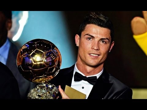 Cristiano Ronaldo Wins FIFA Ballon d'Or 2013 HD