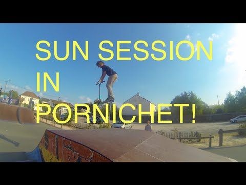 Sun session in Pornichet!