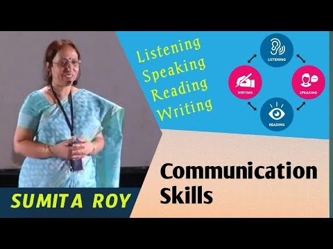 Comunication Skills Class by Dr.Sumita Roy at IMPACT 2012