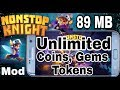 Download Nonstop Knight MOD Money Unlocked offline mod android