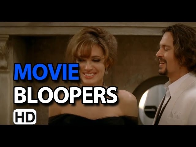The Tourist (2010) Bloopers Outtakes Gag Reel