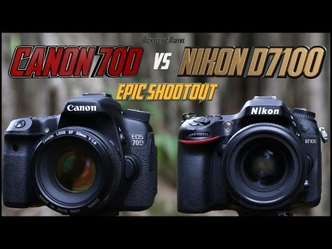 Canon 70D vs Nikon D7100 Epic Shootout Comparison | Which camera to buy?