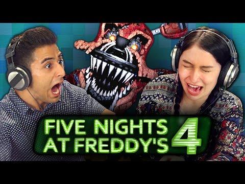 FIVE NIGHTS AT FREDDY'S 4 (REACT: Gaming)