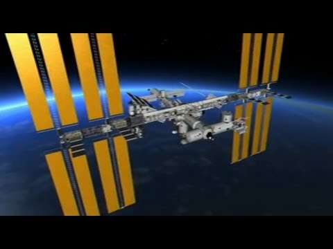 3D virtual spacewalk outside the International Space Station