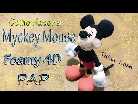 Mickey Mouse en Fomy 4d (parte #2)