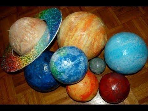 Планеты солнечной системы своими руками из бумаги