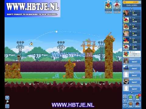 Angry Birds Friends Tournament Level 1 Week 75 (tournament 1) no power-ups