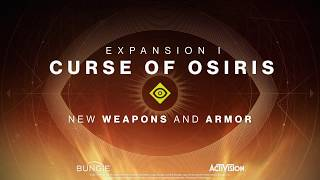 Destiny 2 - 'Curse of Osiris' New Weapons and Armor Preview
