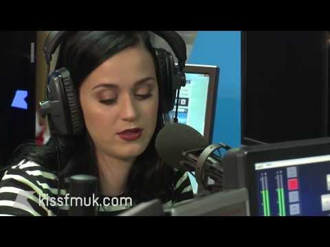 Katy Perry talks (and sings) to the Kiss Breakfast Team - Kiss FM (UK)