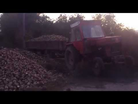 Made in Romania - Tractor mare,remorca mare