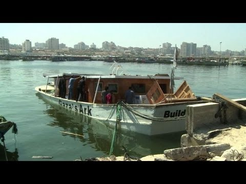 Blast aboard Gaza activists' 'Ark' intended to break siege