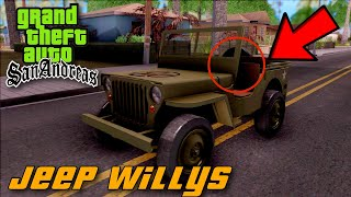 Jeep Willys MB GTA San Andreas