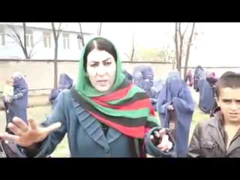 Fraud in Afghan elections 2014 done by ashraf ghani team in Takhar by racist uzbak woman