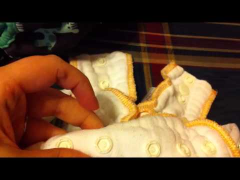 Newborn Cloth Diapers First Two Weeks