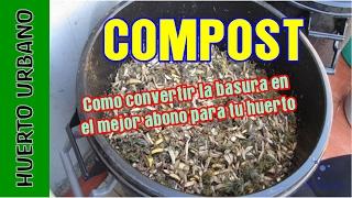 Reciclar la basura y convertirla en Compost