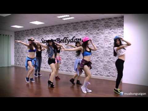 Học nhảy Sexydance cùng Ms. Lý Ngọc và học viên tại SaigonBellydance