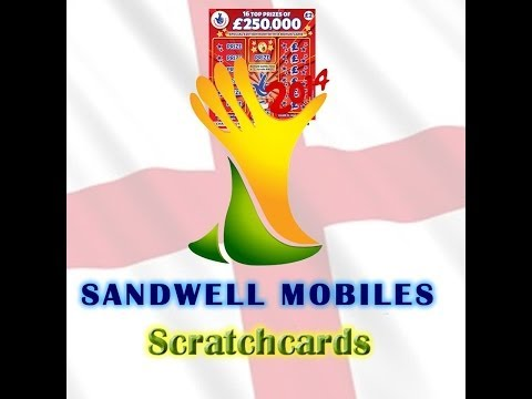 World Cup Scratchcards England v Uruguay