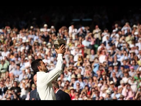2014 Men's Singles Final Highlights: Novak Djokovic v Roger Federer - Wimbledon 2014