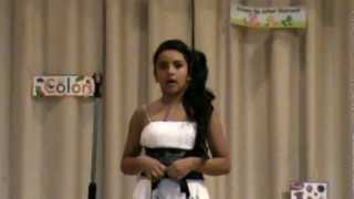 9 Year Old Amazes All At 3rd Grade Talent Show Singing I