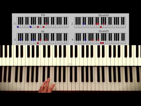 How to play: All of me - John Legend PART 1: Intro + Verse. Original Piano lesson. Tutorial