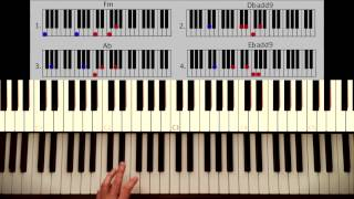 How To Play: All Of Me John Legend PART 1: Intro + Verse