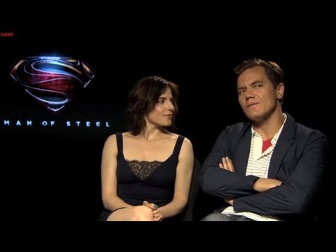 Michael Shannon And Antje Traue Interview -- Man Of Steel
