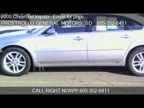 2008 Chevrolet Impala LTZ for sale in Huron, SD 57350 at PRO