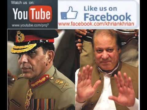 Nawaz Sharif Mandate for Peace and Pakistan Army...Khrian Khrian by Rashid Murad
