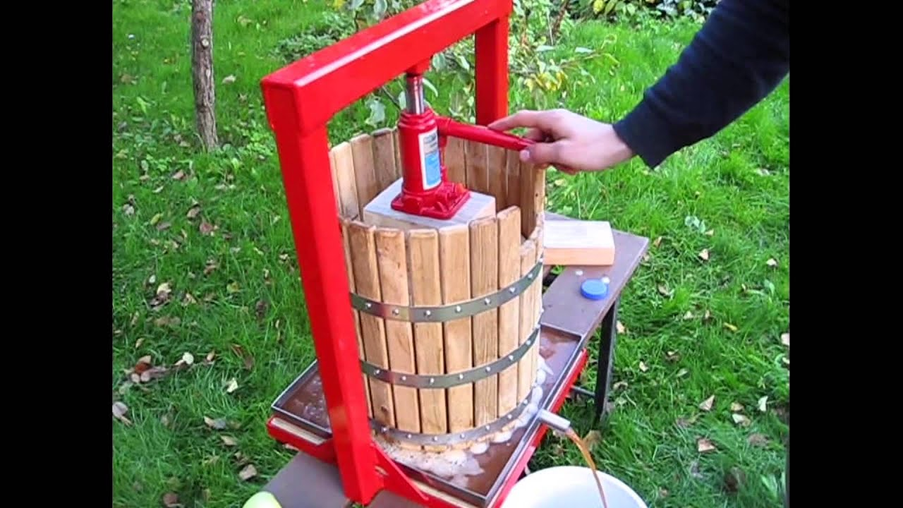 Простейший пресс для винограда