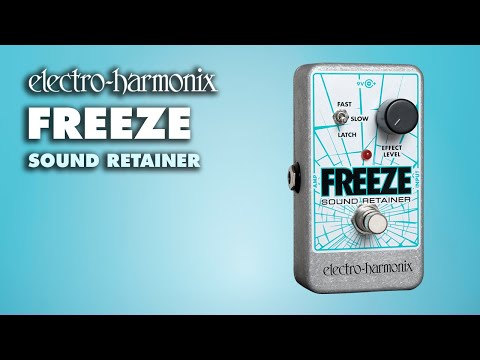 Electro Harmonix Freeze Sound Retainer Effects Pedal for Guitar