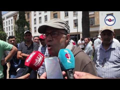 تصريح ناري للكوميدي بزيز بمسيرة الرباط