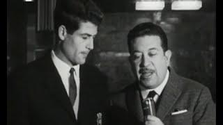 Entrevista a Alexandre Baptista antes da partida para Lyon em 1963/1964