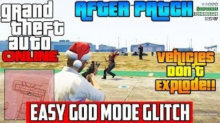 GTA 5 Online: EASY GOD MODE GLITCH AFTER PATCH GTA V