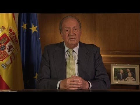 Spain's King Juan Carlos abdicates to 'renew' monarchy