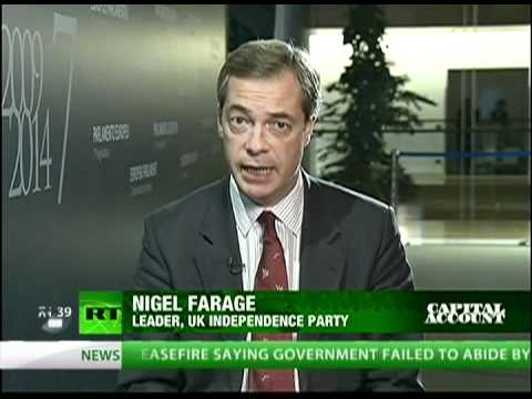 Future of the US and Europe with Nigel Farage and Lew Rockwell on Capital Account (11/15/11)
