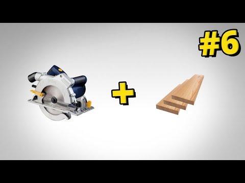 Genialny sposób na proste cięcie drewna