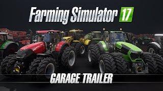 Farming Simulator 17 - Garázs Trailer