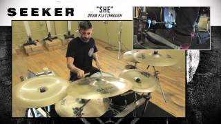 SEEKER - She (Drum Demonstration)