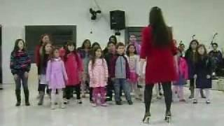 Coreografia Ao Pastor Com Carinho (Cristina Mel)