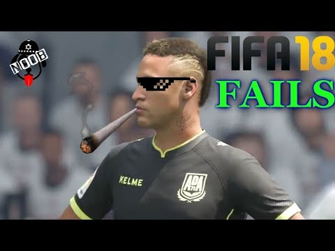 Best FIFA 18 FAILS ● Glitches, Goals, Skills #20