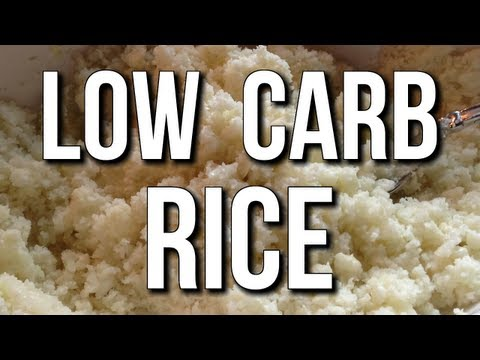 LOW CARB RICE SUBSTITUTE:  AMAZING FOR CUTTING & WEIGHT LOSS