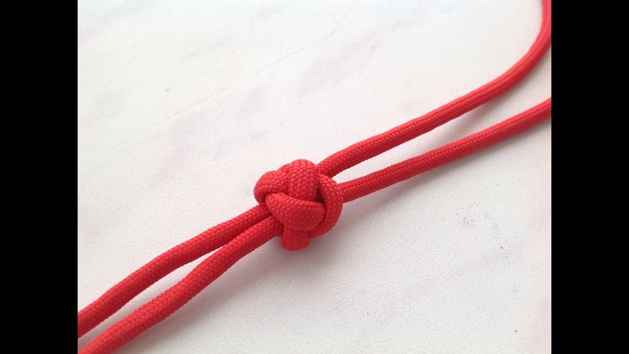 Как сделать узел на конце вязания