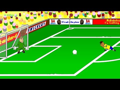 BRAZIL v CROATIA 3-1 by 442oons (12.6.14 World Cup 2014)